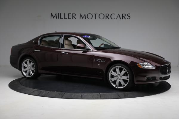 Used 2011 Maserati Quattroporte for sale Sold at Aston Martin of Greenwich in Greenwich CT 06830 11