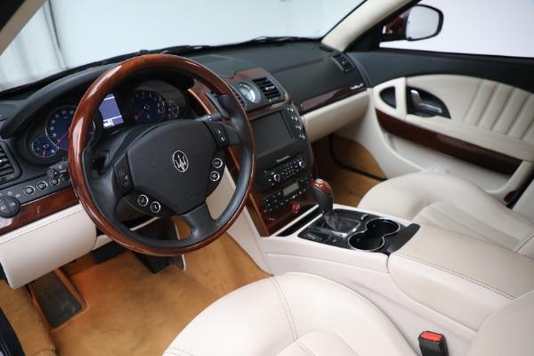 Used 2011 Maserati Quattroporte for sale Sold at Aston Martin of Greenwich in Greenwich CT 06830 14