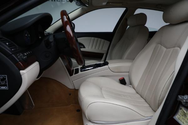 Used 2011 Maserati Quattroporte for sale Sold at Aston Martin of Greenwich in Greenwich CT 06830 15