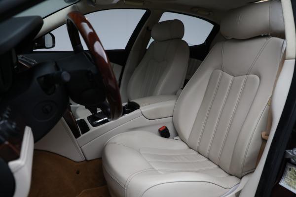 Used 2011 Maserati Quattroporte for sale Sold at Aston Martin of Greenwich in Greenwich CT 06830 16