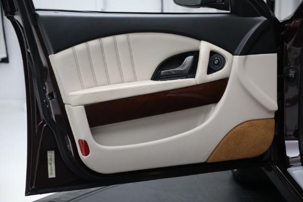 Used 2011 Maserati Quattroporte for sale Sold at Aston Martin of Greenwich in Greenwich CT 06830 17