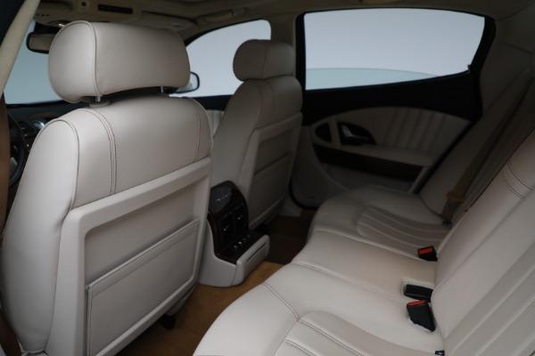Used 2011 Maserati Quattroporte for sale Sold at Aston Martin of Greenwich in Greenwich CT 06830 18
