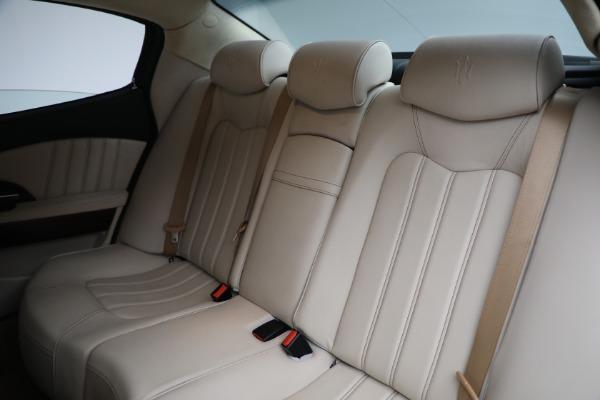 Used 2011 Maserati Quattroporte for sale Sold at Aston Martin of Greenwich in Greenwich CT 06830 20