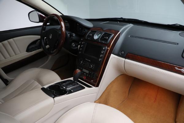 Used 2011 Maserati Quattroporte for sale Sold at Aston Martin of Greenwich in Greenwich CT 06830 22