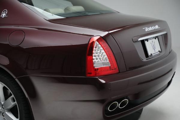 Used 2011 Maserati Quattroporte for sale Sold at Aston Martin of Greenwich in Greenwich CT 06830 25