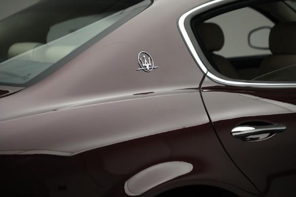 Used 2011 Maserati Quattroporte for sale Sold at Aston Martin of Greenwich in Greenwich CT 06830 26