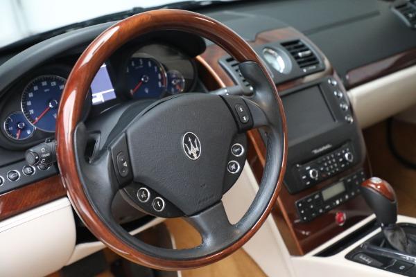 Used 2011 Maserati Quattroporte for sale Sold at Aston Martin of Greenwich in Greenwich CT 06830 27