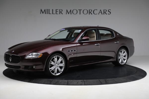 Used 2011 Maserati Quattroporte for sale Sold at Aston Martin of Greenwich in Greenwich CT 06830 3