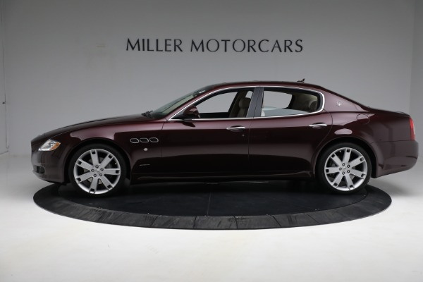 Used 2011 Maserati Quattroporte for sale Sold at Aston Martin of Greenwich in Greenwich CT 06830 4