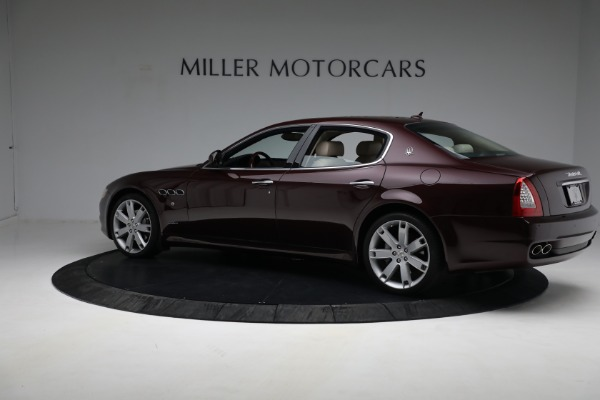 Used 2011 Maserati Quattroporte for sale Sold at Aston Martin of Greenwich in Greenwich CT 06830 5