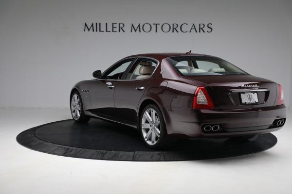 Used 2011 Maserati Quattroporte for sale Sold at Aston Martin of Greenwich in Greenwich CT 06830 6