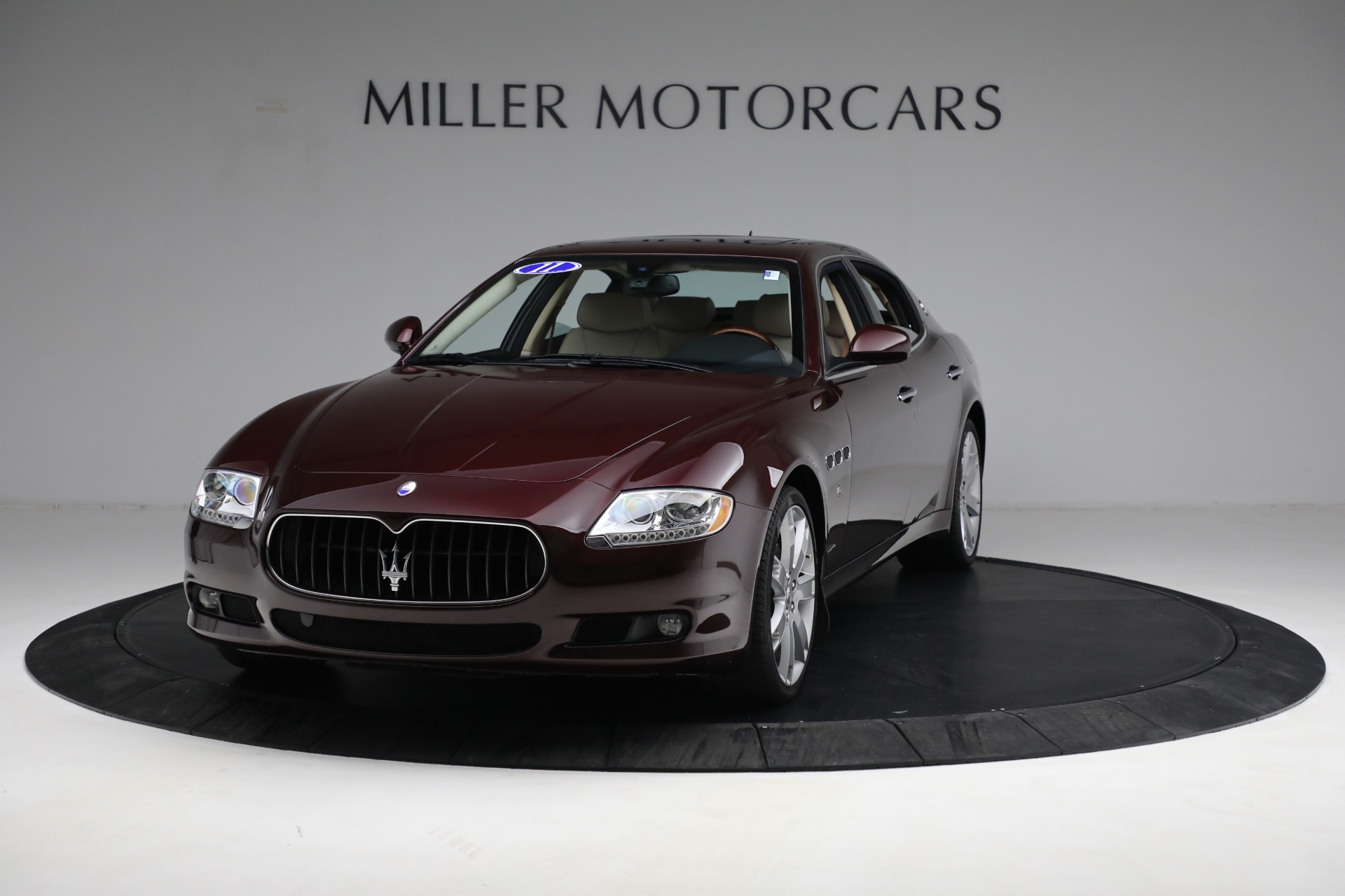 Used 2011 Maserati Quattroporte for sale Sold at Aston Martin of Greenwich in Greenwich CT 06830 1