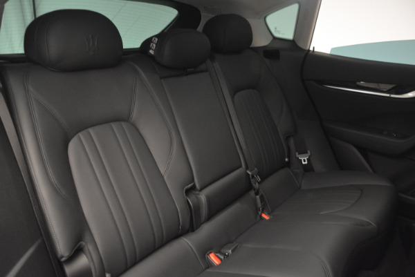 New 2017 Maserati Levante 350hp for sale Sold at Aston Martin of Greenwich in Greenwich CT 06830 24