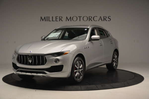 New 2017 Maserati Levante 350hp for sale Sold at Aston Martin of Greenwich in Greenwich CT 06830 1
