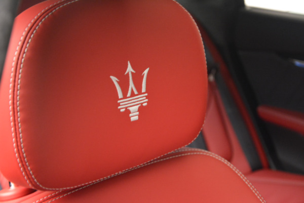 New 2017 Maserati Quattroporte S Q4 GranLusso for sale Sold at Aston Martin of Greenwich in Greenwich CT 06830 27