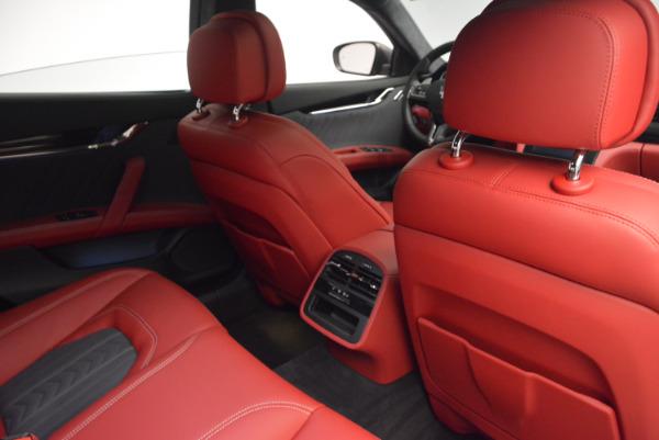 New 2017 Maserati Quattroporte S Q4 GranLusso for sale Sold at Aston Martin of Greenwich in Greenwich CT 06830 28