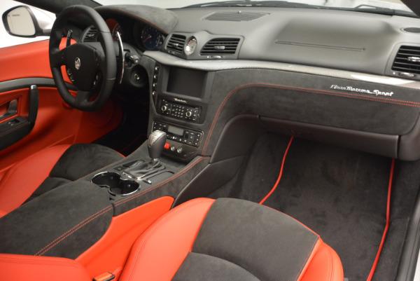 New 2017 Maserati GranTurismo Sport for sale Sold at Aston Martin of Greenwich in Greenwich CT 06830 21
