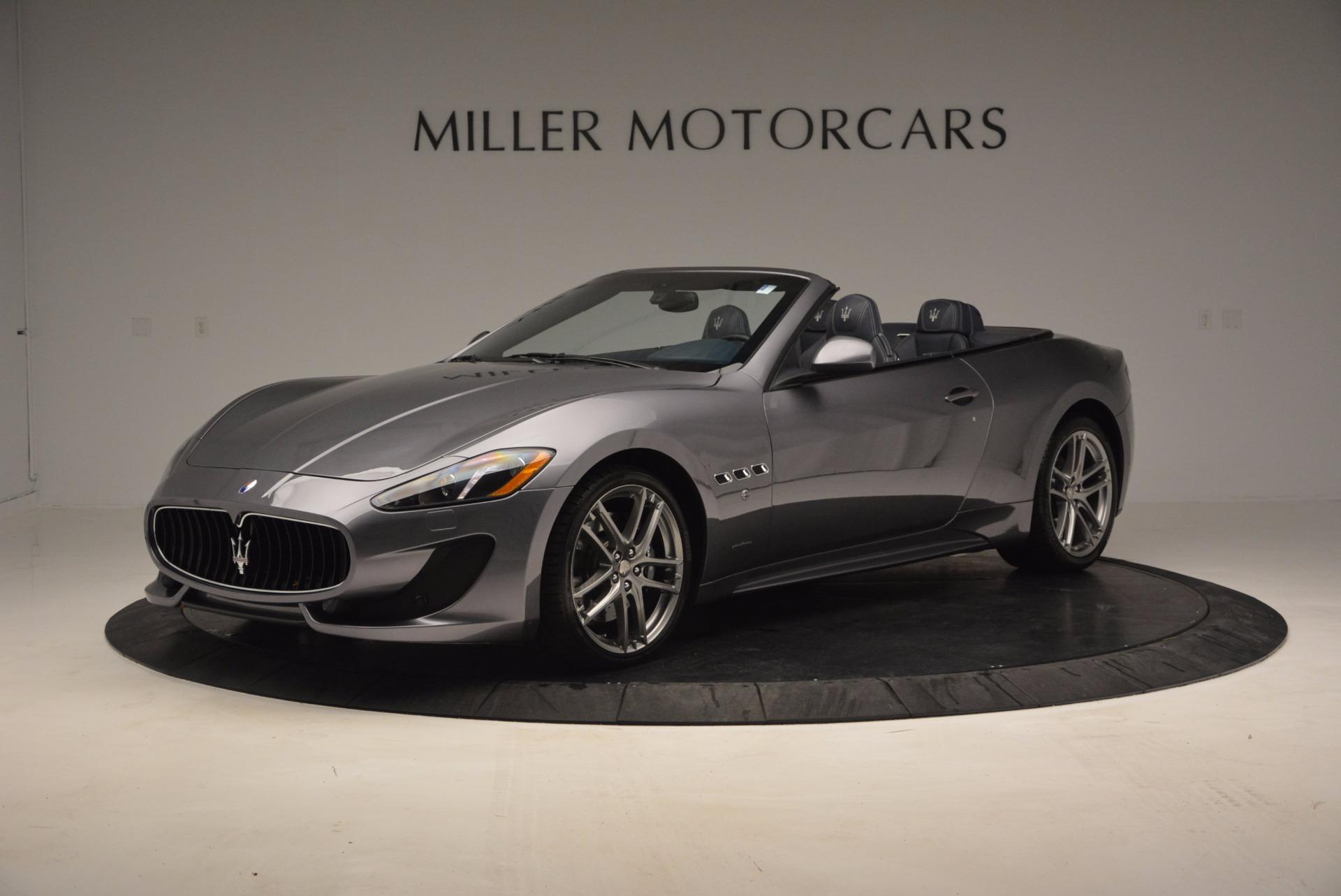 New 2017 Maserati GranTurismo Sport for sale Sold at Aston Martin of Greenwich in Greenwich CT 06830 1