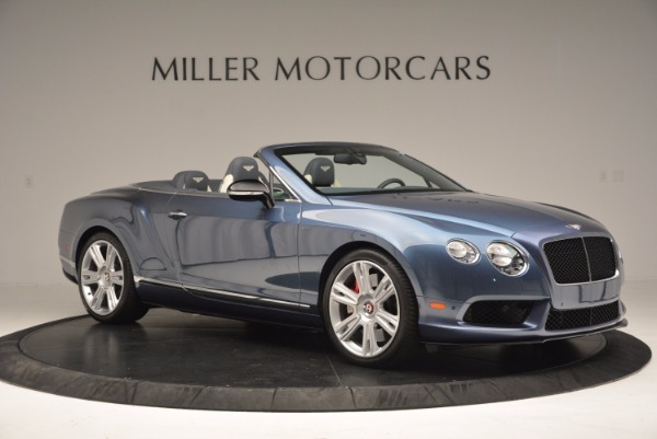 Used 2014 Bentley Continental GT V8 S Convertible for sale Sold at Aston Martin of Greenwich in Greenwich CT 06830 10