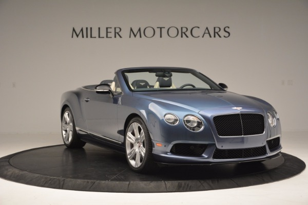 Used 2014 Bentley Continental GT V8 S Convertible for sale Sold at Aston Martin of Greenwich in Greenwich CT 06830 11