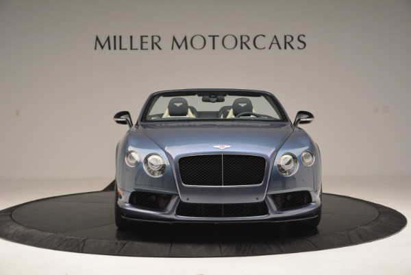 Used 2014 Bentley Continental GT V8 S Convertible for sale Sold at Aston Martin of Greenwich in Greenwich CT 06830 12