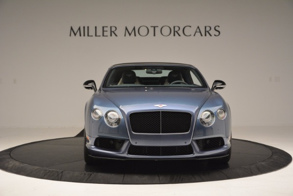 Used 2014 Bentley Continental GT V8 S Convertible for sale Sold at Aston Martin of Greenwich in Greenwich CT 06830 13
