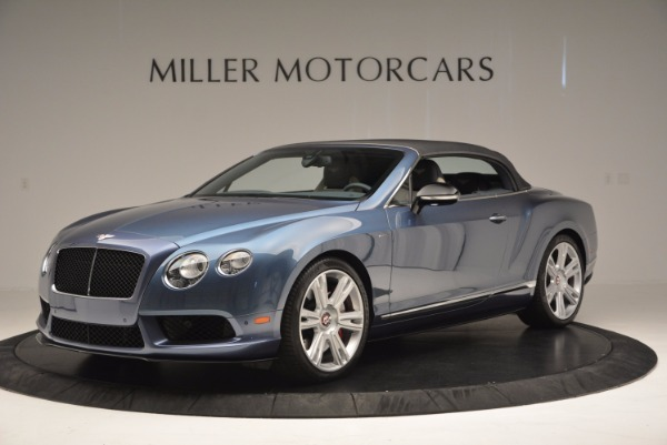 Used 2014 Bentley Continental GT V8 S Convertible for sale Sold at Aston Martin of Greenwich in Greenwich CT 06830 14