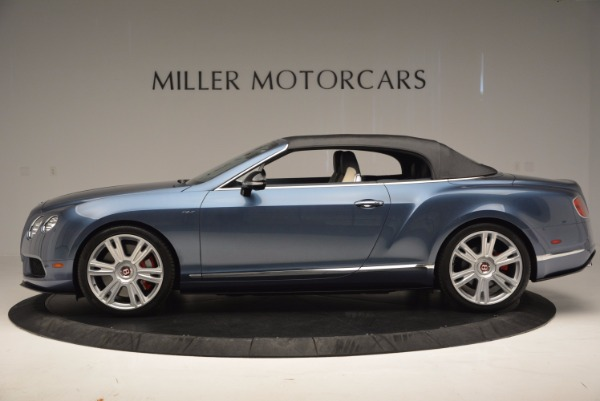 Used 2014 Bentley Continental GT V8 S Convertible for sale Sold at Aston Martin of Greenwich in Greenwich CT 06830 15