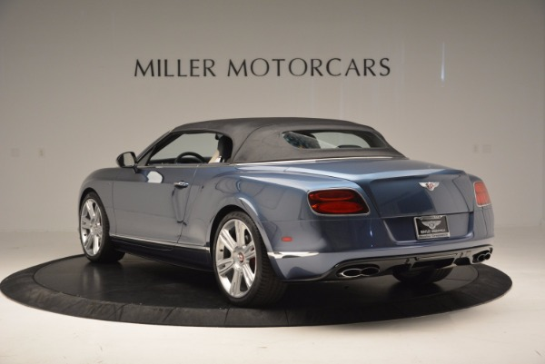 Used 2014 Bentley Continental GT V8 S Convertible for sale Sold at Aston Martin of Greenwich in Greenwich CT 06830 16