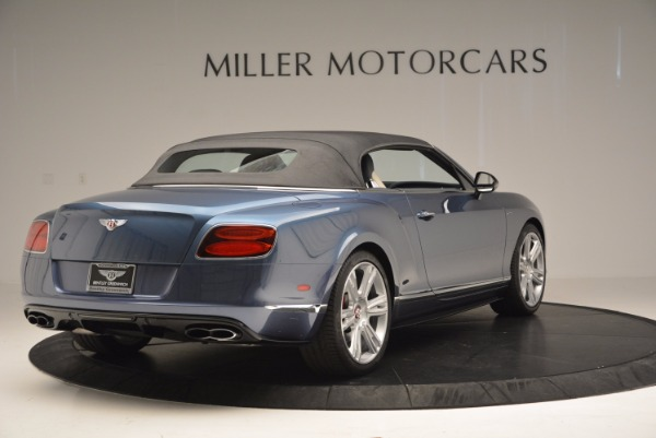 Used 2014 Bentley Continental GT V8 S Convertible for sale Sold at Aston Martin of Greenwich in Greenwich CT 06830 18