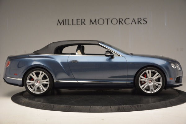 Used 2014 Bentley Continental GT V8 S Convertible for sale Sold at Aston Martin of Greenwich in Greenwich CT 06830 19