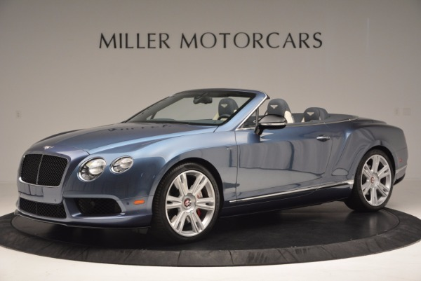 Used 2014 Bentley Continental GT V8 S Convertible for sale Sold at Aston Martin of Greenwich in Greenwich CT 06830 2