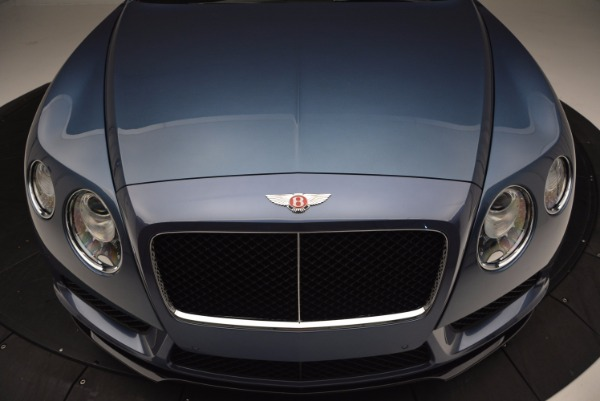 Used 2014 Bentley Continental GT V8 S Convertible for sale Sold at Aston Martin of Greenwich in Greenwich CT 06830 21