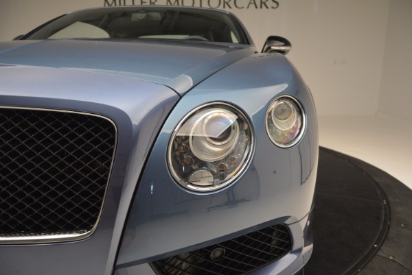Used 2014 Bentley Continental GT V8 S Convertible for sale Sold at Aston Martin of Greenwich in Greenwich CT 06830 23