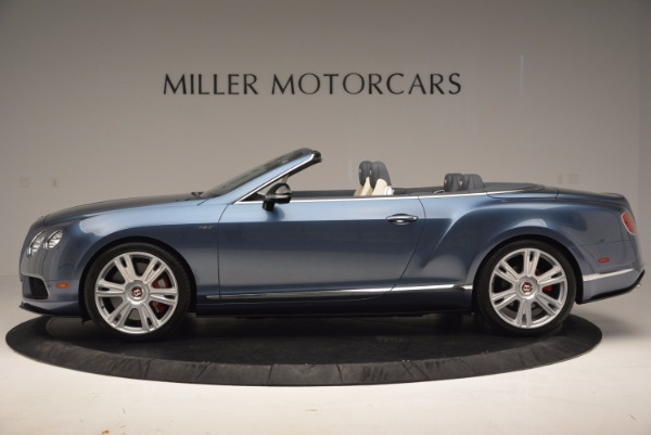 Used 2014 Bentley Continental GT V8 S Convertible for sale Sold at Aston Martin of Greenwich in Greenwich CT 06830 3
