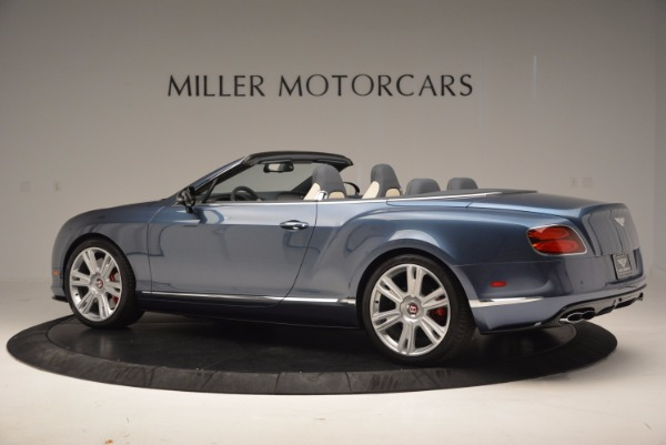 Used 2014 Bentley Continental GT V8 S Convertible for sale Sold at Aston Martin of Greenwich in Greenwich CT 06830 4