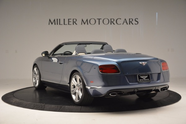 Used 2014 Bentley Continental GT V8 S Convertible for sale Sold at Aston Martin of Greenwich in Greenwich CT 06830 5