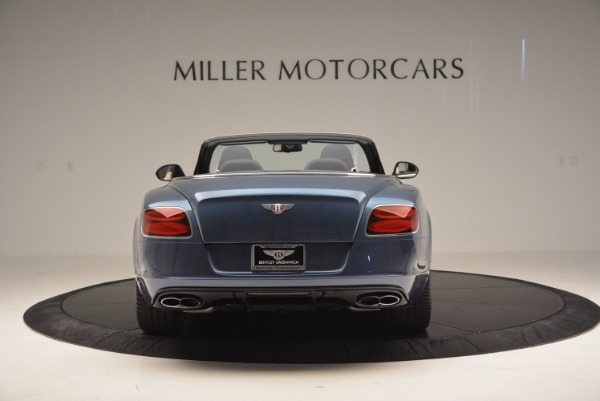Used 2014 Bentley Continental GT V8 S Convertible for sale Sold at Aston Martin of Greenwich in Greenwich CT 06830 6