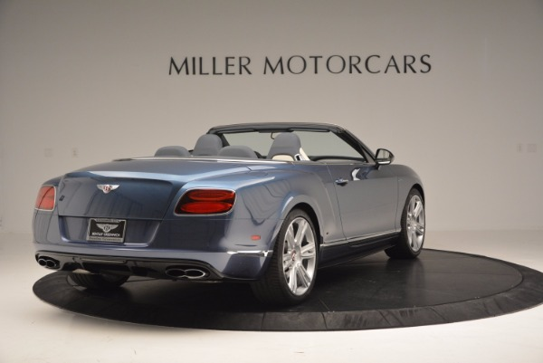 Used 2014 Bentley Continental GT V8 S Convertible for sale Sold at Aston Martin of Greenwich in Greenwich CT 06830 7