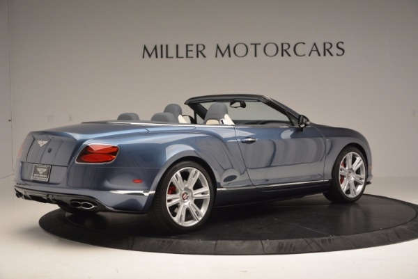Used 2014 Bentley Continental GT V8 S Convertible for sale Sold at Aston Martin of Greenwich in Greenwich CT 06830 8