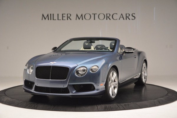 Used 2014 Bentley Continental GT V8 S Convertible for sale Sold at Aston Martin of Greenwich in Greenwich CT 06830 1