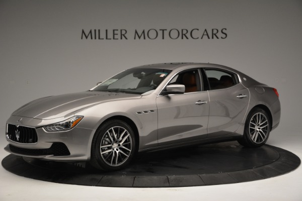 Used 2017 Maserati Ghibli S Q4 EX-LOANER for sale Sold at Aston Martin of Greenwich in Greenwich CT 06830 2