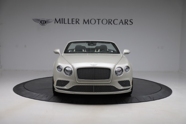 Used 2016 Bentley Continental GTC Speed for sale Sold at Aston Martin of Greenwich in Greenwich CT 06830 13