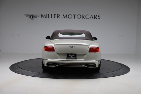 Used 2016 Bentley Continental GTC Speed for sale Sold at Aston Martin of Greenwich in Greenwich CT 06830 17