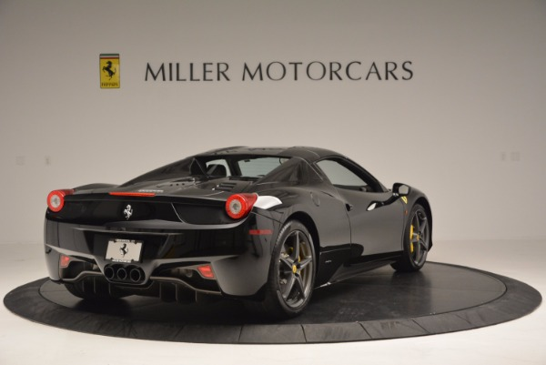 Used 2014 Ferrari 458 Spider for sale Sold at Aston Martin of Greenwich in Greenwich CT 06830 19