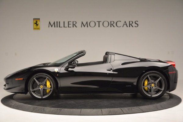 Used 2014 Ferrari 458 Spider for sale Sold at Aston Martin of Greenwich in Greenwich CT 06830 3
