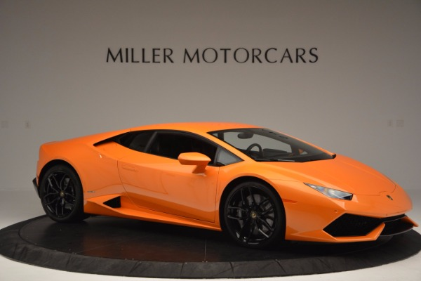 Used 2015 Lamborghini Huracan LP 610-4 for sale Sold at Aston Martin of Greenwich in Greenwich CT 06830 10