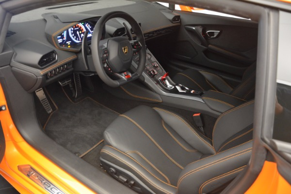 Used 2015 Lamborghini Huracan LP 610-4 for sale Sold at Aston Martin of Greenwich in Greenwich CT 06830 13