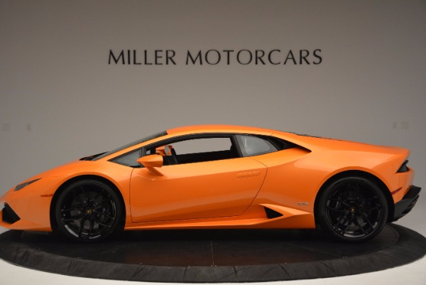 Used 2015 Lamborghini Huracan LP 610-4 for sale Sold at Aston Martin of Greenwich in Greenwich CT 06830 3