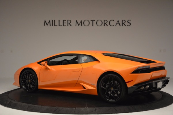 Used 2015 Lamborghini Huracan LP 610-4 for sale Sold at Aston Martin of Greenwich in Greenwich CT 06830 4